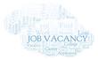 Job Vacancy word cloud.