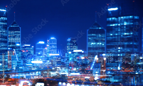 Big city never sleeps Tablou Canvas