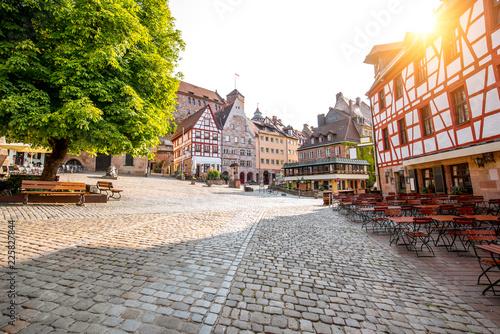 Foto op Plexiglas Europese Plekken Old town of Nurnberg city, Germany