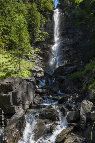 Poster Watervallen Waterfall at Engelberg on Switzerland