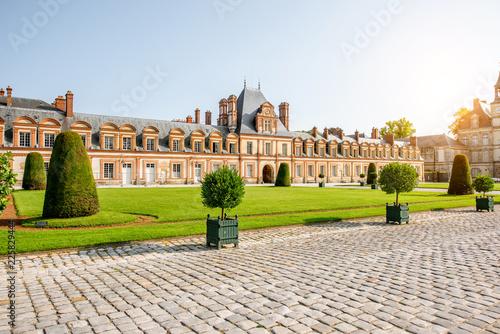 Foto op Plexiglas Historisch geb. Fontainebleau Palace in France