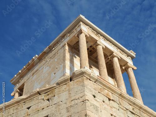 Poster Athene Akropolis in Athen - Tempel