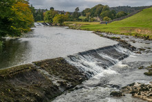 Linton Falls Is A Popular Waterfall On The River Wharfe And Is Located At The Foot Of Sedber Lane Which Drops Down To The River From Grassington