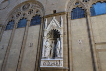 Four Crowned Martyrs Particular On Church Orsanmichele