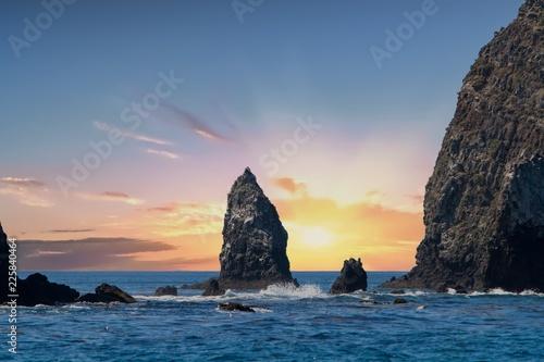 Rock near Anacapa Island, Channel Islands National Park, California
