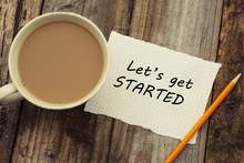 Let's Get Started Inscription ...