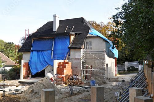 Umbau Haus umbau von haus, renovierung - buy this stock photo and explore