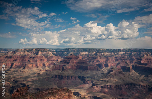 View across the Grand Canyon National Park, Arizona, USA