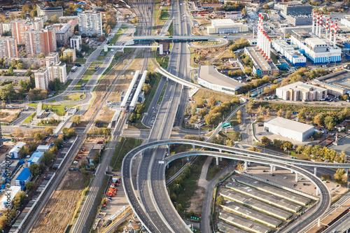 Keuken foto achterwand Aziatische Plekken Third Ring Road and Railway Central Circle