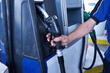 Guns for filling the petrol at fuel filling stations