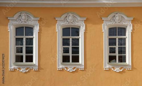 Foto op Aluminium Oude gebouw Details of ancient European architecture