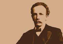 Portrait De Richard Strauss, Célèbre Musicien Allemand