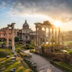 Fototapeta Forum Romanum in Rom, Italien