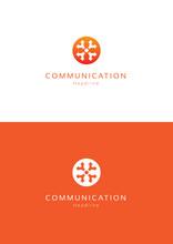 Communication Logo Template.