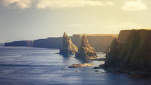Sunset At Stacks Of Duncansby,...