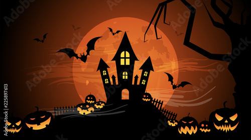 Halloween, zucche, zucca, paura, tutti i santi Wallpaper Mural
