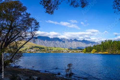 Foto op Aluminium Oceanië Lake Wakatipu, New Zealand