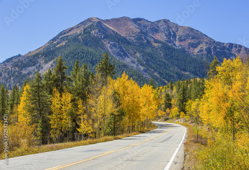 Independence Pass in the Colorado Rocky Mountains
