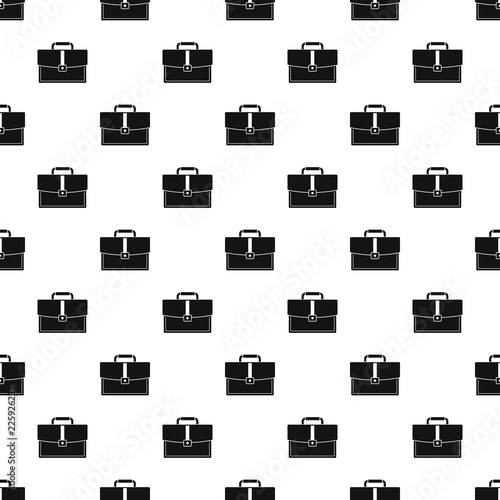 Photo Business briefcase pattern seamless in simple style vector illustration