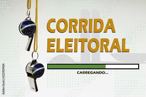 CORRIDA ELEITORAL Slika na platnu