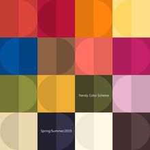 Trendy Color Poster By Plain C...