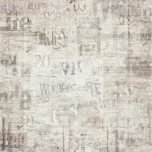 Old Vintage Grunge Newspaper Paper Texture Background Buy