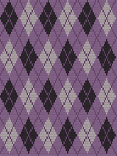 Seamless Knitted Pattern With ...
