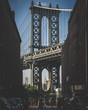 Manhattan Bridge - view from the Washington Street (Dumbo)