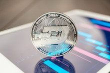 Close-up Photo Of Dash Cryptoc...