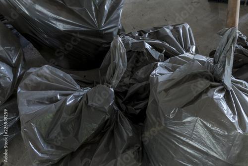 Photographie  Sacchi di spazzatura