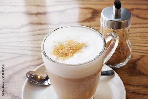 Fotografie, Obraz  Latte Coffee