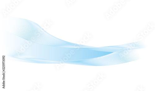 水色のラインの背景素材