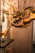 A Trumpeting Golden Music Ange...