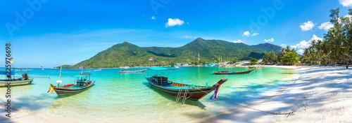 Foto op Plexiglas Asia land Fisherman boat on Phangan Island