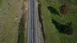New Zealand Drone shot of Road