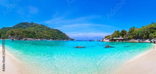 Poster Tropical plage Racha (Raya) island, Thailand