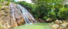 Namuang Waterfall On Koh Samui