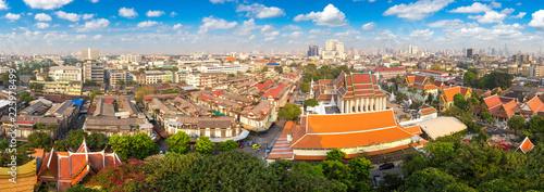 Foto op Plexiglas Asia land Wat Saket temple in Bangkok