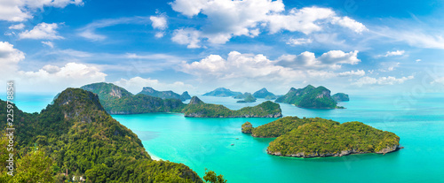 Spoed Foto op Canvas Asia land Mu Ko Ang Thong National Park, Thailand