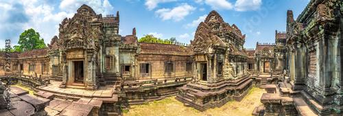 Deurstickers Bedehuis Banteay Samre temple in Angkor Wat