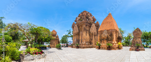 Ponagar Tower in Nha Trang, Vietnam Canvas Print