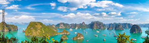 Deurstickers Asia land Halon bay, Vietnam