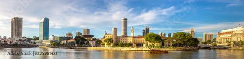 Fototapeta premium Panoramę miasta Singapur