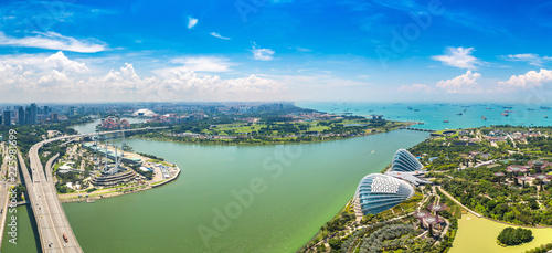Foto op Canvas Aziatische Plekken Greenhouses at Gardens by the Bay