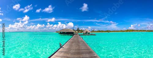 Fotografia Water Villas (Bungalows) in the Maldives