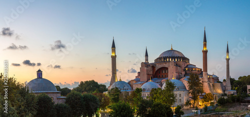 Printed kitchen splashbacks Turkey Ayasofya Museum (Hagia Sophia) in Istanbul