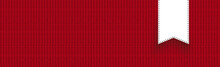 Red Knitting Textile Background Header
