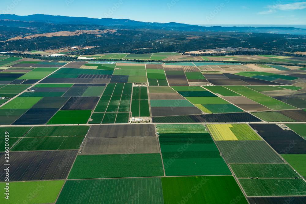 Fototapety, obrazy: Farmland in Northern California