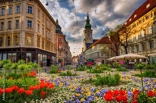 Centrum miasta Graz