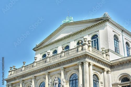 Foto op Plexiglas Theater Spätklassizistische Architektur - Opernhaus Hannover